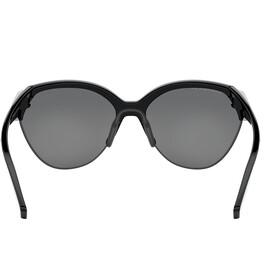 Oakley Trailing Point Sunglasses Women, polished black/prizm black polarized